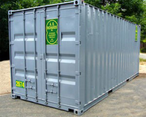 Storage Container Rental 20ft from A.B. Richards
