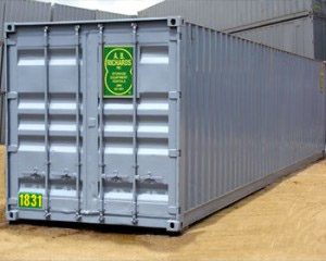 Storage Container Rental 40ft from A.B. Richards