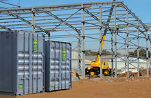 Container Storage Solutions for Your Construction Site