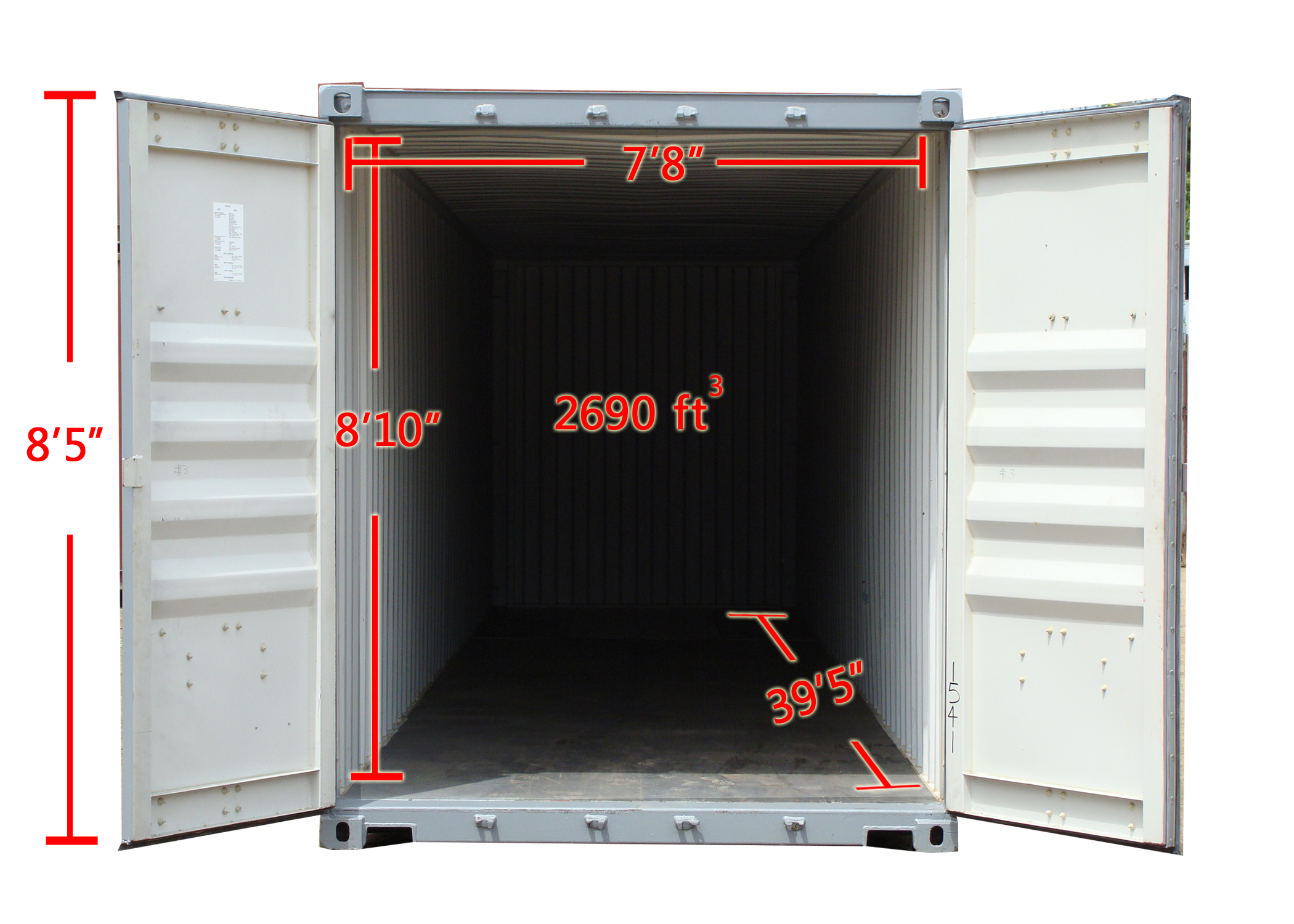 40 39 Jumbo Containers Storage Containers Rentals