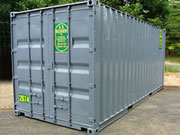 Rental Storage Container 20ft in NY by A.B. Richards