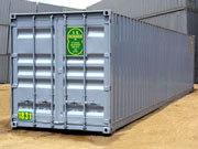 Rental Storage Container 40ft from A.B. Richards