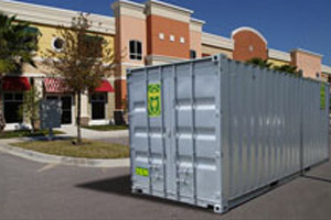 Retail Store Storage Container Rentals by A.B. Richards