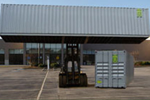 Storage Container Rentals for Retail by A.B. Richards