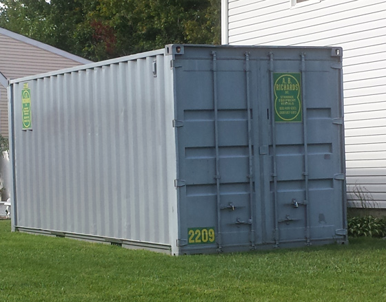 Fall Renovating? Store Items in Secure Storage Containers
