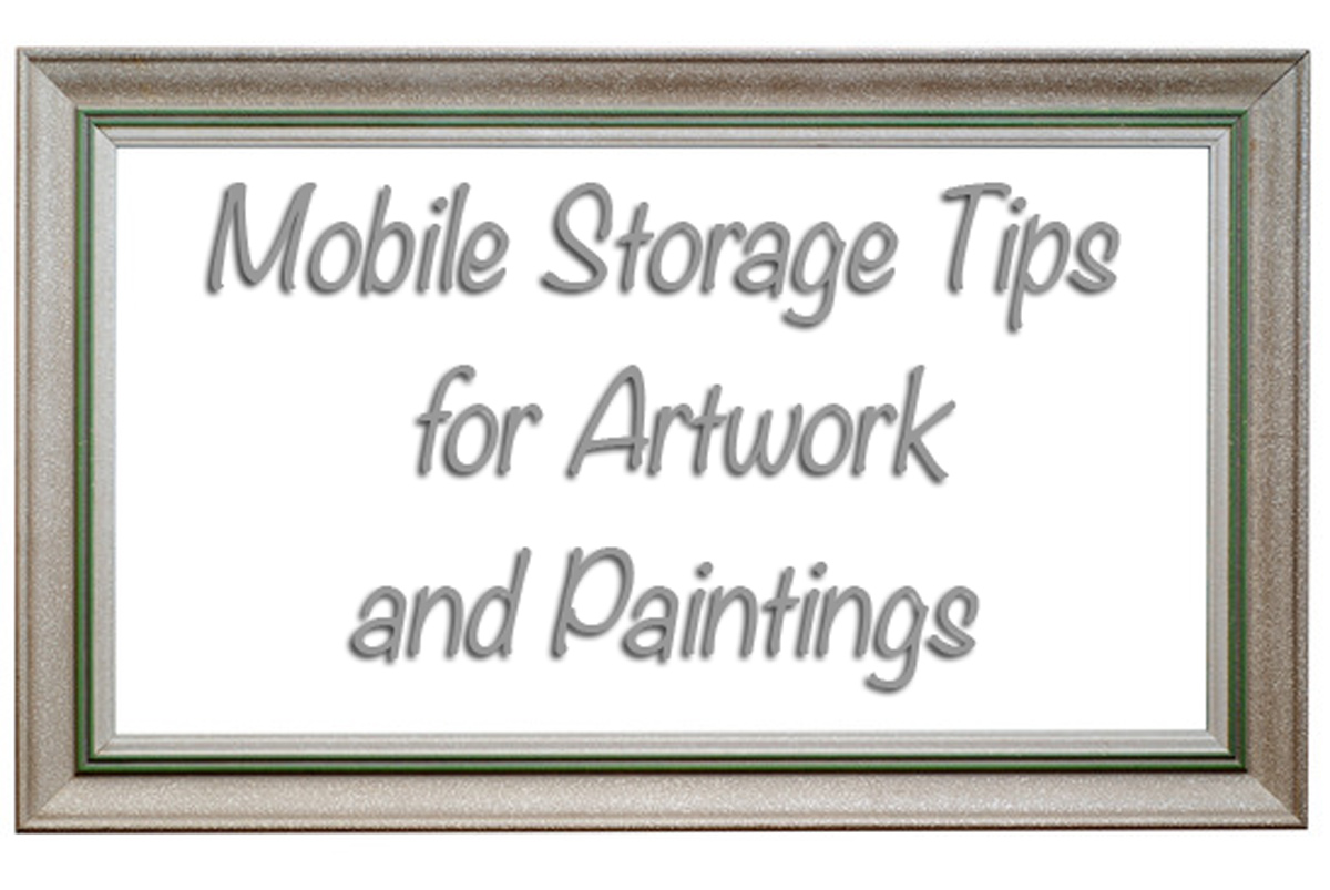 Storage Container Tips for Artwork and Paintings