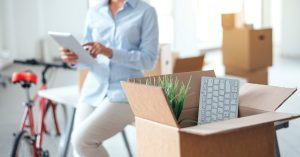 Storage Containers For Office Relocation by A. B. Richards