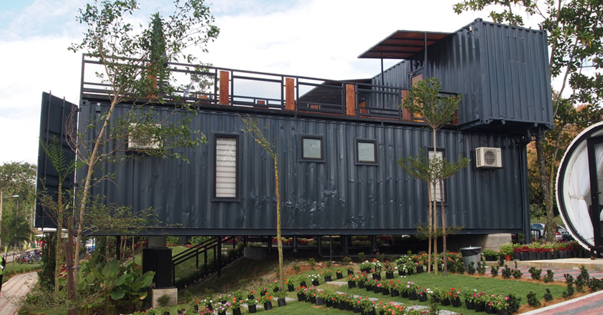 Alternative Uses: Turning Portable Storage Containers into a Home