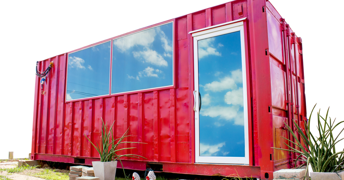Alternative Uses: Storage Container Offices