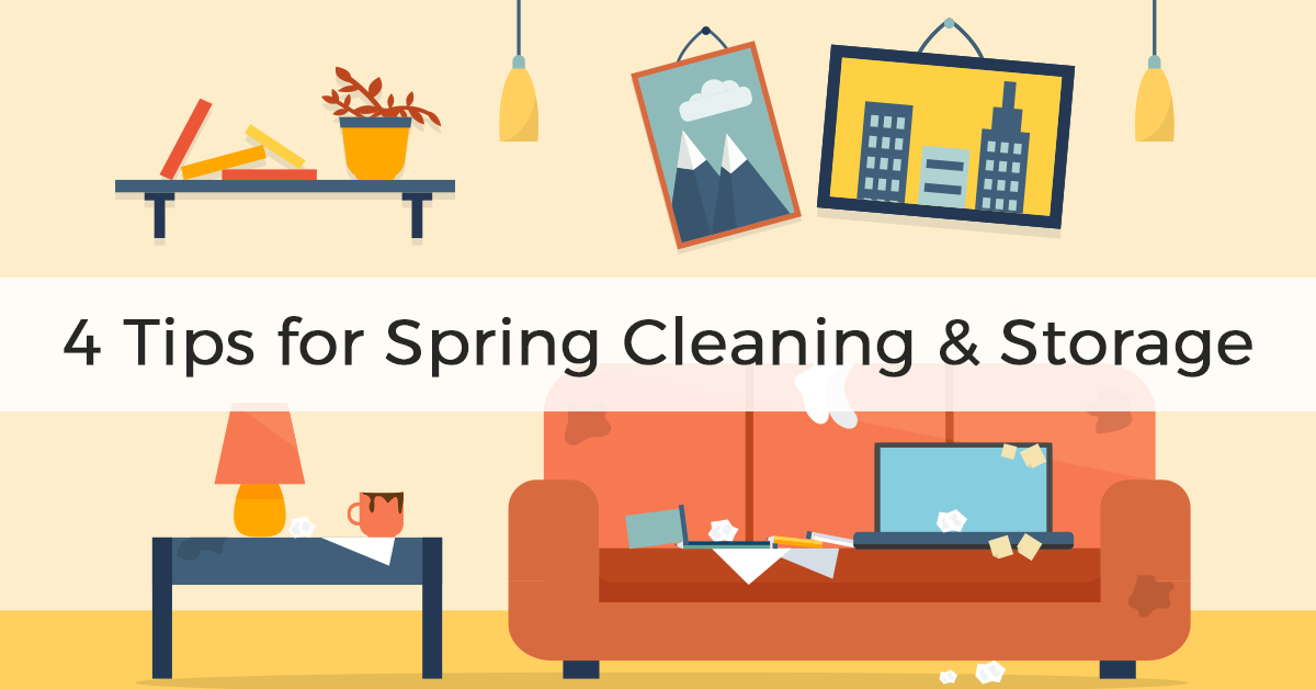 Tips for Spring Cleaning and Storage