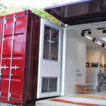Alternative Uses: Storage Container Art Gallery