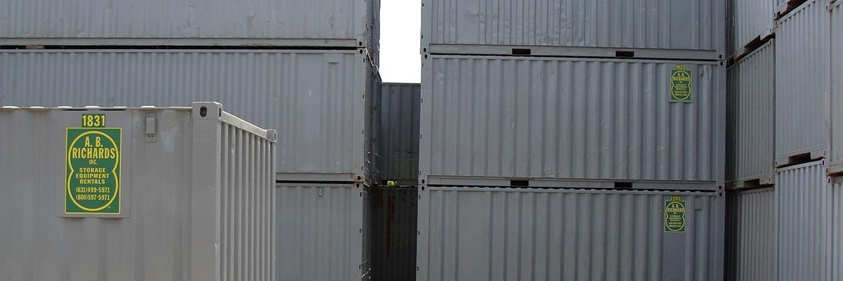 Storage Containers from A.B. Richards
