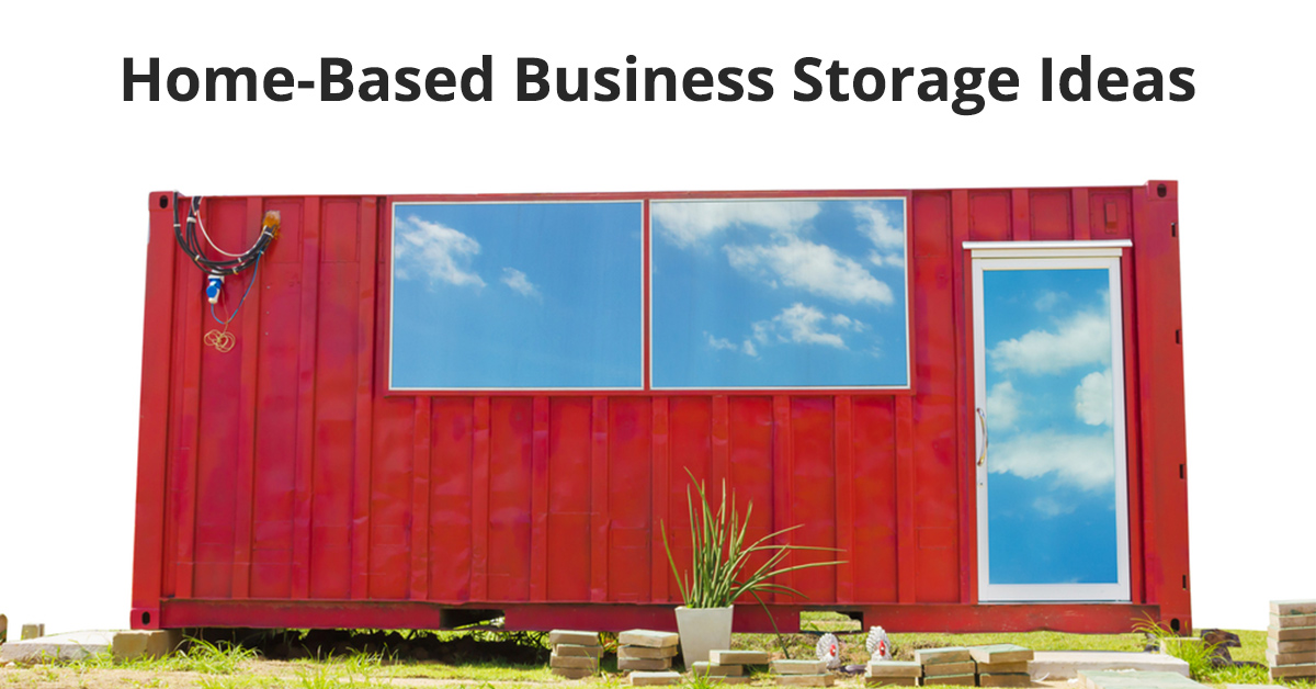 Home-Based Business Storage Ideas