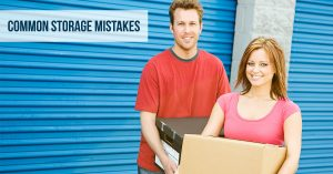 Common Storage Mistakes