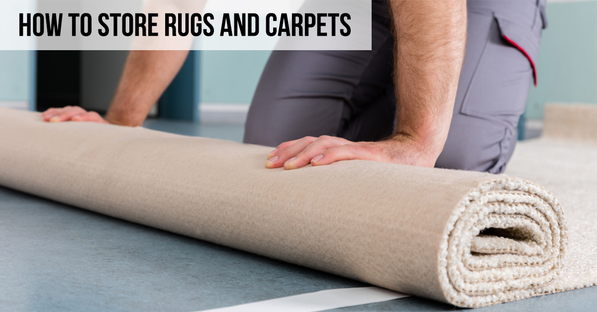 How to Store Rugs and Carpets