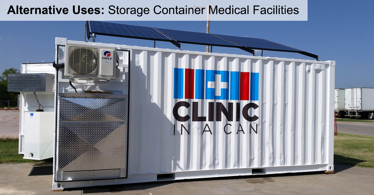 Alternative Uses: Storage Container Medical Facilities