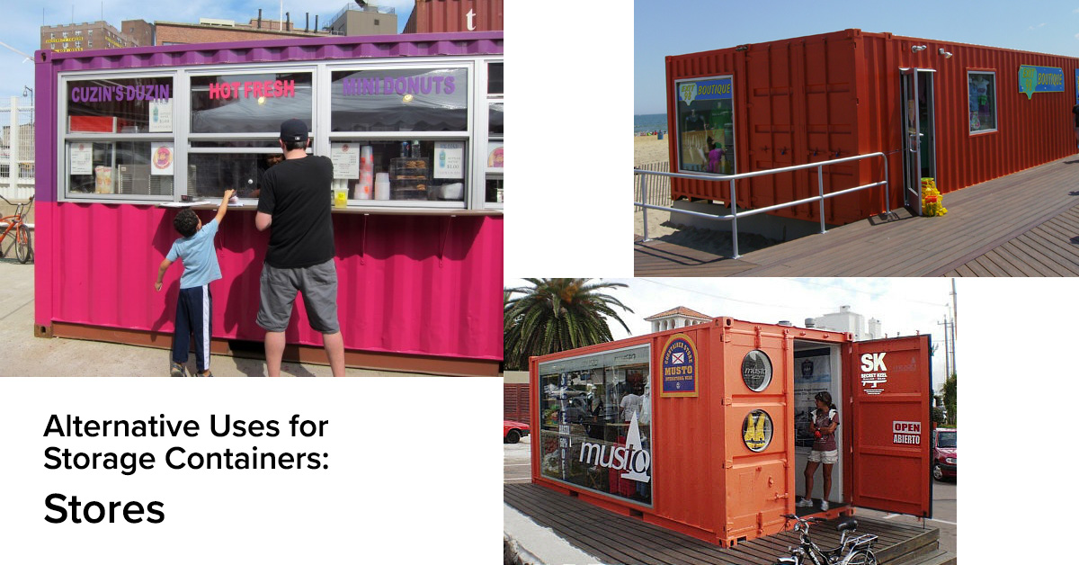 Alternative Uses for Storage Containers: Stores