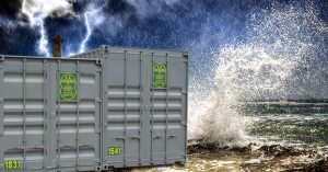 Are Storage Containers Weatherproof?