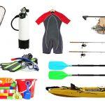Storing Beach Equipment