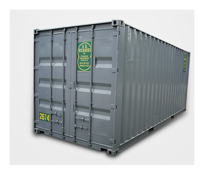 20 foot storage containers