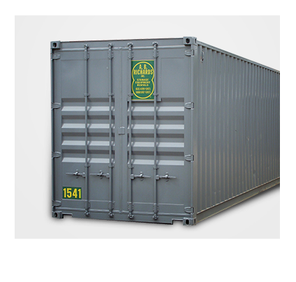 40 foot jumbo storage containers