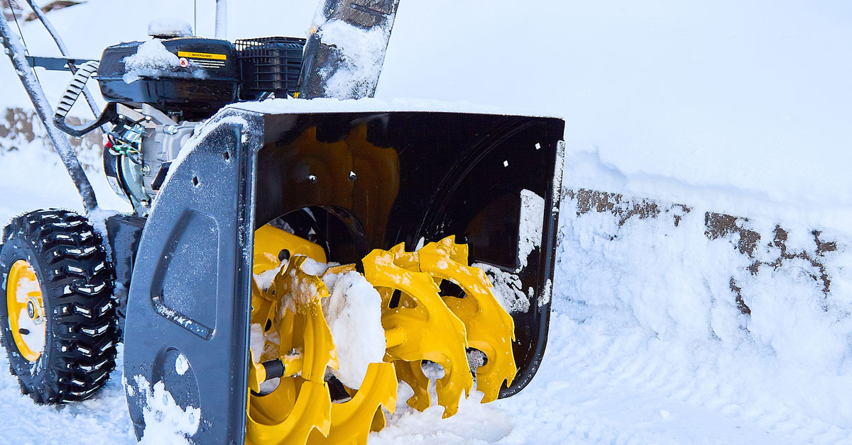 Storage of Snow Removal Equipment