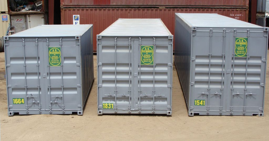 Storage Container Sizes