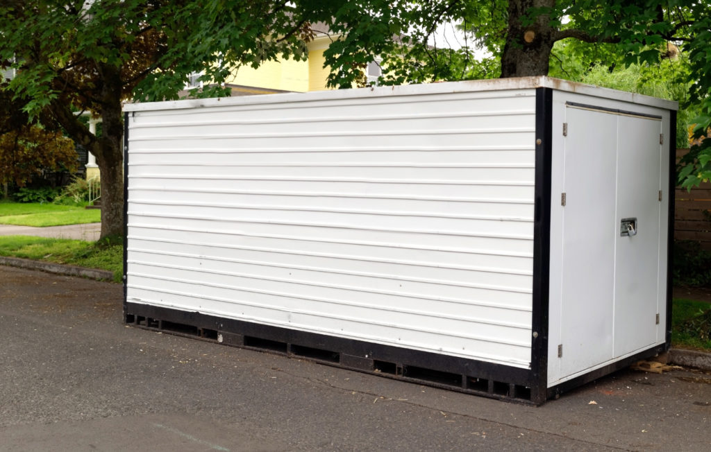 Renting a shipping container